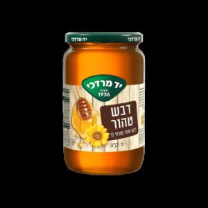 """דבש טהור מפרחי בר – 1 ק""""ג"""