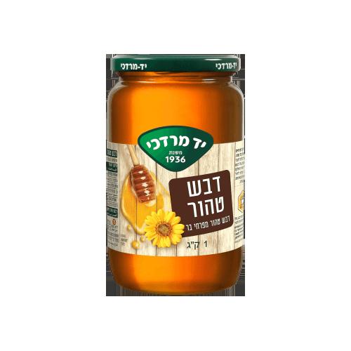 """דבש טהור מפרחי בר - 1 ק""""ג"""