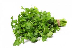כיצד לחתוך ירק פטרוזיליה נענע כוסברה
